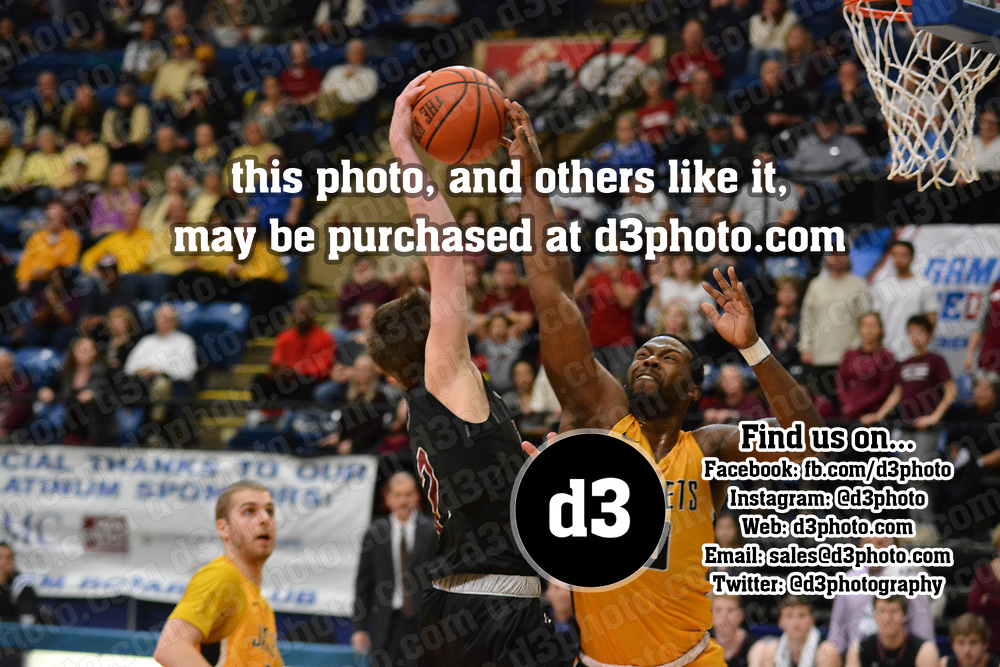 Men's Basketball: Guilford College Quakers vs. Randolph-Macon College Yellow Jackets