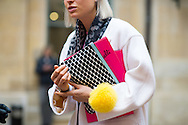 Pierre Hardy Pouch, Outside Schiaparelli Couture SS2015