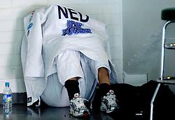 28-05-2006 JUDO: EUROPEES KAMPIOENSCHAP: TAMPERE FINLAND<br /> Edith Bosch verliest de strijd om brons tegen Marina Prisjsjepa uit de Oekraine en haalt voor het eerst  geen medaille op een EK<br /> ©2006-WWW.FOTOHOOGENDOORN.NL