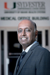 Dr. Govindarajan Narayanan, MD, Professor of Interventional Radiology and the Chairman of the Department of Interventional Radiology at the University of Miami Miller School of Medicine and the University of Miami Health System, at the University of Miami Sylvester Comprehensive Cancer Center.
