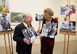 Repro Free: 21/01/2013 .The Irish Cancer Society officially launched its 50th year and its new strategy today which sets out ambitious goals which will bring us ?Towards a Future without Cancer? at a grand event at the RHA Gallery Dublin. Founded in 1963, the Irish Cancer Society has grown into the National Cancer Charity working for and on behalf of everyone affected by cancer in Ireland. With an annual income of over ?20 million, 95% of which comes directly from the fundraising efforts of its thousands of supporters across the country, the Society's mission and long term vision is to work towards a future without cancer. Pictured at the launch are two of the seven founding members Prof Austin Darragh and Lady Antonia Beckwith. Pic Andres Poveda.