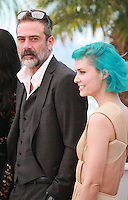 Jeffrey Dean Morgan, Nanna Øland Fabricius at the photo call for the film The Salvation at the 67th Cannes Film Festival, Saturday 17th May 2014, Cannes, France.