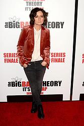 May 1, 2019 - Pasadena, CA, USA - LOS ANGELES - MAY 1:  Sara Gilbert at the ''The Big Bang Theory'' Series Finale Party at the Langham Huntington Hotel on May 1, 2019 in Pasadena, CA (Credit Image: © Kay Blake/ZUMA Wire)