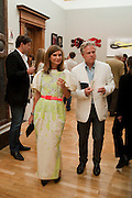 JAMES CURTIS; NATALIE MASSENET, Royal Academy of Arts Summer Exhibition Preview Party 2011. Royal Academy. Piccadilly. London. 2 June <br /> <br />  , -DO NOT ARCHIVE-© Copyright Photograph by Dafydd Jones. 248 Clapham Rd. London SW9 0PZ. Tel 0207 820 0771. www.dafjones.com.