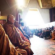 Vénérable Nyanadharo MahaThéra Luang Pu Nenkham Chattigo. Vesak. Pagode de Vincennes Vesak 2013.
