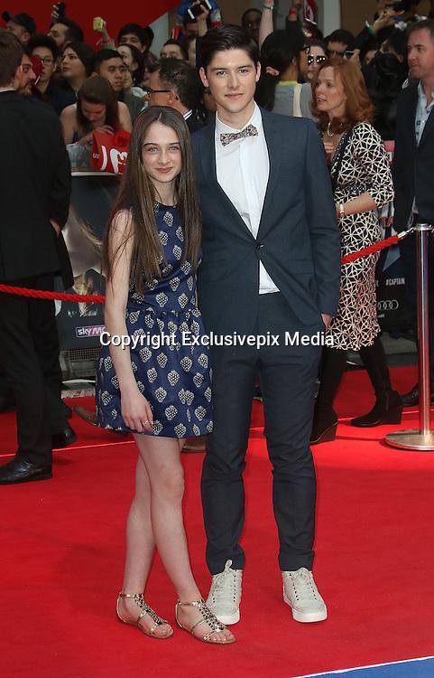 April 26, 2016 -Raffey Cassidy attending 'Captain America: Civil War' European Film Premiere at Vue Westfield in London, UK.<br /> ©Exclusivepix Media