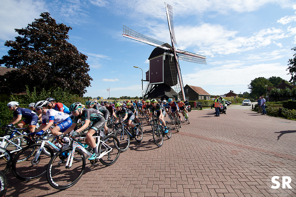 Mikayla Harvey (NZL) in the bunch at Boels Ladies Tour 2019 - Stage 1, a 123 km road race from Stramproy to Weert, Netherlands on September 4, 2019. Photo by Sean Robinson/velofocus.com