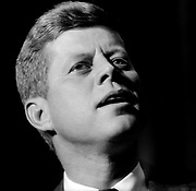 John F Kennedy campaigning at the Zionist Organization of America National Convention in 1960 New York City