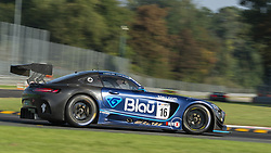September 23, 2018 - Drivex School (Hellmeister/Hahn) at first chicane in Monza during the second qualifying session of International GT Open 2018. (Credit Image: © Riccardo Righetti/ZUMA Wire)