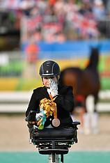 20160914 Paralympics Rio 2016 - Dressur Stinna Tange Kaastrup vinder bronze medalje