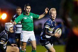 Bristol Rugby replacement Will Homer in action - Mandatory byline: Rogan Thomson/JMP - 17/01/2016 - RUGBY UNION - Clifton Rugby Club - Bristol, England - Scarlets Premiership Select XV v Bristol Rugby - B&I Cup.