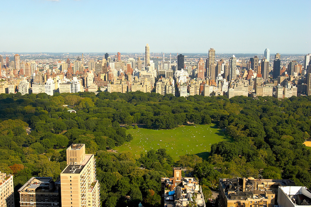 View of Central Park from 101 West 67th Street Penthouse