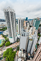 cityscape at Causeway Bay in Hong Kong