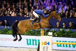 Bles Bart, NED, ISrael v/d Dennehoeve<br /> Jumping Amsterdam 2019<br /> © Hippo Foto - Dirk Caremans<br /> 26/01/2019