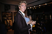 James Cook. Celebration of Dunhill Motorities, Dunhill, 48 Jermyn St. London. 19 May 2005. ONE TIME USE ONLY - DO NOT ARCHIVE  © Copyright Photograph by Dafydd Jones 66 Stockwell Park Rd. London SW9 0DA Tel 020 7733 0108 www.dafjones.com