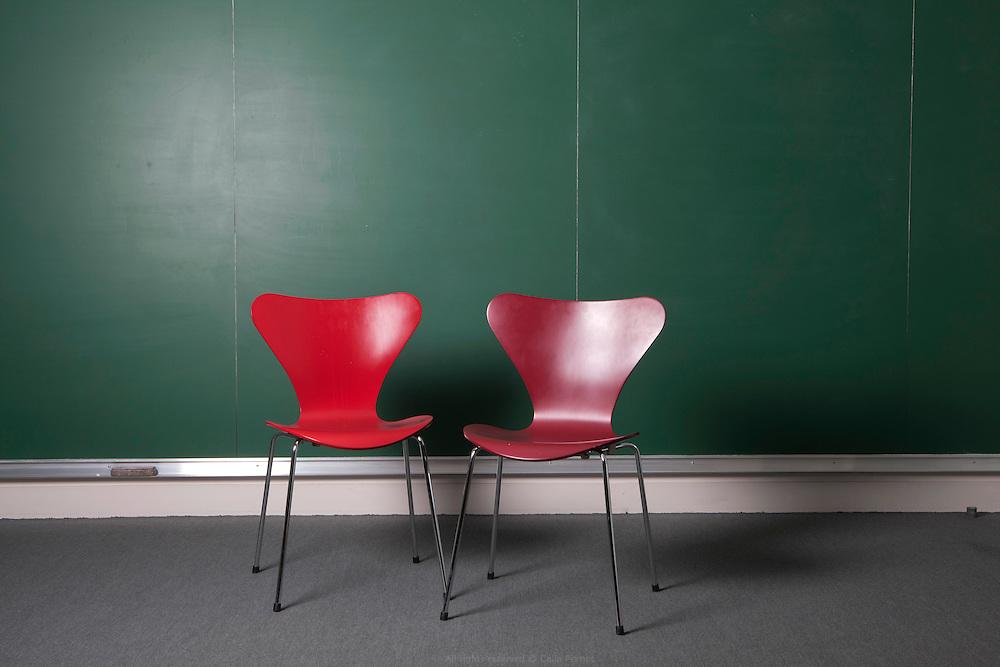 Salle de cours, Collège de France