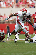 Arkansas Razorbacks running back Darren McFadden runs with the ball during a 24 to 13 loss to the Alabama Crimson Tide on September 24, 2005 at Bryant-Denny Stadium in Tuscaloosa, Alabama..Mandatory Credit: Wesley Hitt/Icon SMI