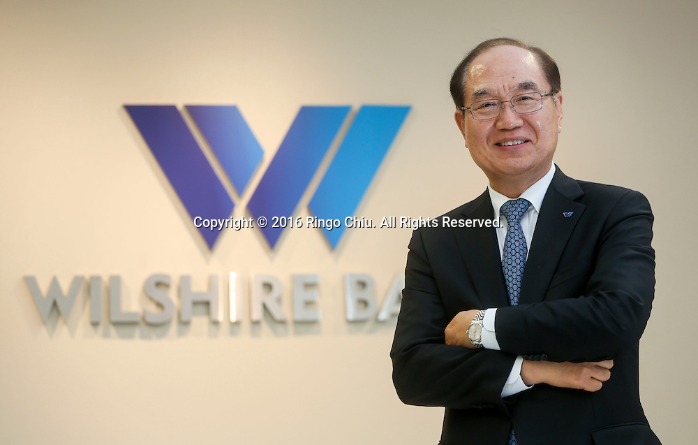 Jae Whan Yoo, President and Chief Executive Officer of Wilshire Bank.<br /> (Photo by Ringo Chiu/PHOTOFORMULA.com)<br /> <br /> Usage Notes: This content is intended for editorial use only. For other uses, additional clearances may be required.