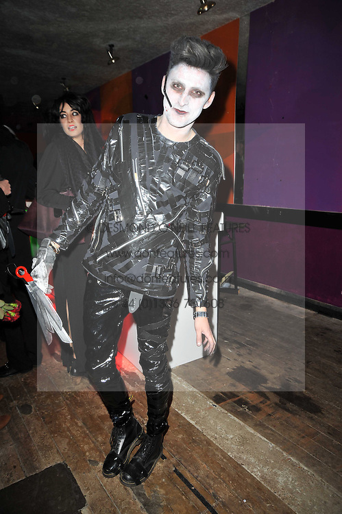 Designer HENRY HOLLAND at the 3rd annual Browns Focus Halloween Party held at the Shepherd's Bush Pavilion, London W12 on 30th October 2009.