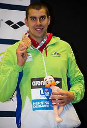 100m Breaststroke Men Final<br /> DUGONJIC Damir Slovenia SLO Bronze Medal<br /> XVII European Short Course Swimming Championships<br /> Herning - DEN Denmark Dic. 12-15 2013<br /> Day02 - Dec. 13 , 2013<br /> Photo G.Scala