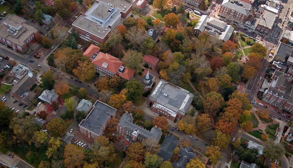 Aerial view of Ohio University. © Ohio University