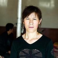 Liqian : Liu Shaorong und ihr Kind in Liqian.