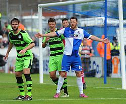 Bristol Rovers' Tom Parkes - Photo mandatory by-line: Nizaam Jones /JMP - Mobile: 07966 386802 - 03/05/2015 - SPORT - Football - Bristol - Memorial Stadium - Bristol Rovers v Forest Green Rovers - Vanarama Football Conference.