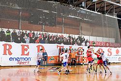 1/ 8 Men's European Handball Challenge Cup match between RD Slovan, Slovenia and Ystads IF, Sweden, on February 21, 2009 in Arena Kodeljevo, Ljubljana, Slovenia. Slovan defeated Ystads 37-27 and qualified to quarterfinals. (Photo by Vid Ponikvar / Sportida)