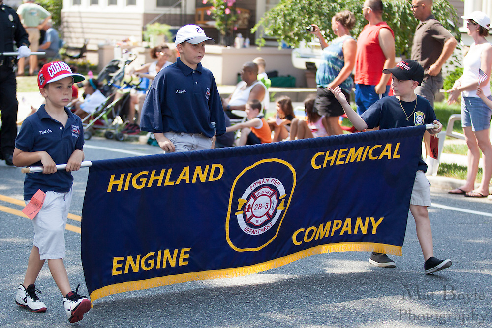 Highland Chemical Company: Pitman 4th of July Parade down Broadway in Pitman NJ on Wednesday July 4, 2012. (photo / Mat Boyle)