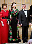 20.03.2018; The Hague, Netherlands: QUEEN RANIA AND QUEEN MAXIMA<br /> turn on the style.<br /> King Abdullah II and Queen Rania Al Abdullah of Jordan are on an official visit to the Netherlands<br /> Mandatory Photo Credit: &copy;Royal Hashemite Court/NEWSPIX INTERNATIONAL<br /> <br /> IMMEDIATE CONFIRMATION OF USAGE REQUIRED:<br /> Newspix International, 31 Chinnery Hill, Bishop's Stortford, ENGLAND CM23 3PS<br /> Tel:+441279 324672  ; Fax: +441279656877<br /> Mobile:  0777568 1153<br /> e-mail: info@newspixinternational.co.uk<br /> &ldquo;All Fees Payable To Newspix International&rdquo;