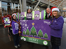 UNISON delivers Fair Pay Christmas cards to Scottish Parliament | Edinburgh | 20 December 2017