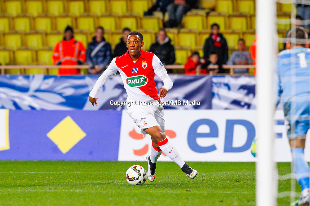 Anthony Martial  - 21.01.2015 - Monaco / Evian Thonon   - Coupe de France 2014/2015<br /> Photo : Sebastien Nogier / Icon Sport
