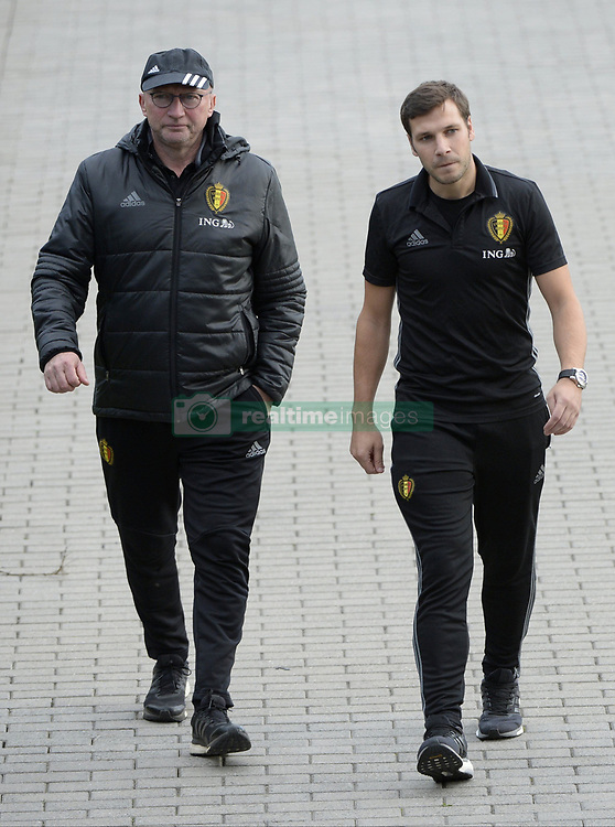 October 2, 2017 - Tubize, Belgique - TUBIZE, BELGIUM - OCTOBER 2 :  Chris Van Puyvelde Technical Director of Royal Belgian Football Federationduring training session of the National Soccer Team of Belgium prior to the World Cup 2018 qualification games against Bosnia and Herzegovina and Cyprus at the Belgian Football center on October 02, 2017 in Tubize, Belgium, 2/10/2017 (Credit Image: © Panoramic via ZUMA Press)