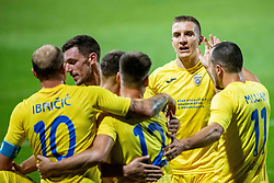 Gaber Dobrovoljc of NK Domzale during 2nd Leg Football match between NK Domzale and FC Balzan  in First Qualifying match of UEFA Europa League 2019/2020, on July 18, 2019 in Sports park Domzale, Domzale, Slovenia. Photo by Ziga Zupan / Sportida