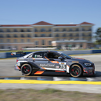 March 15, 2018 - Sebring, Florida, USA:  The Continental Tire SportsCar Challenge practice for the Alan Jay Automotive Network 120 at Sebring International Raceway in Sebring, Florida.