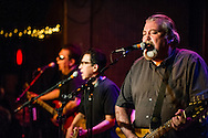Los Lobos performs at Fitzgerald's in Berwyn, Illinois.