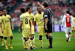 25-04-2010 VOETBAL: AJAX - FEYENOORD: AMSTERDAM<br /> De eerste wedstrijd in de bekerfinale is gewonnen door Ajax met 2-0 / Andre Bahia<br /> ©2009-WWW.FOTOHOOGENDOORN.NL