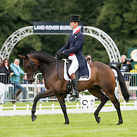 Dressage - Land Rover Burghley Horse Trials 2015