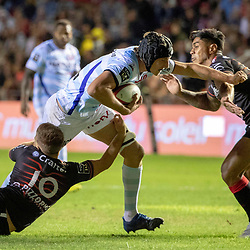 Baptiste Chouzenoux of Racing 92 during Top 14 match between Toulon and Racing 92 on August 25, 2018 in Toulon, France. (Photo by Henri/Icon Sport)