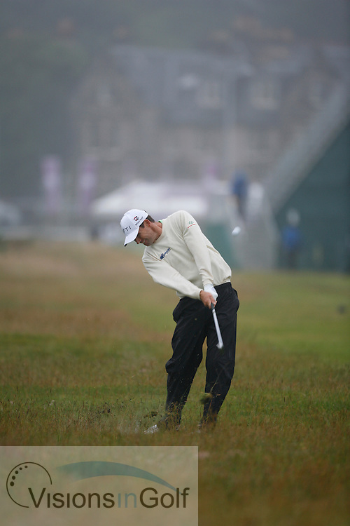 Padraig Harrington<br /> The Open Championship 2010, St Andrews GC, Scotland.<br /> Photo credit:  Mark Newcombe / www.visionsingolf.com