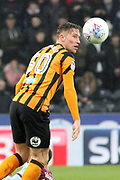Hull City defender Angus MacDonald (50)  during the EFL Sky Bet Championship match between Hull City and Aston Villa at the KCOM Stadium, Kingston upon Hull, England on 31 March 2018. Picture by Mick Atkins.