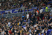 The OL public leaves the stadium before the end of the match during the French Championship Ligue 1 football match between Olympique Lyonnais and Dijon FCO on September 23, 2017 at Groupama stadium in Lyon, France - Photo Romain Biard / Isports / ProSportsImages / DPPI