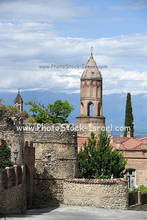 Sighnaghi, the capital of the wine region Kakheti in Georgia, Caucasus
