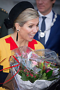 Queen Maxima of The Netherlands attends the Prix de Rome award ceremony in the Appel Arts Centre in Amsterdam, The Netherlands, 17 December 2015. Photo: Patrick van Katwijk