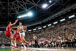 Vlatko Cancar of Slovenia during friendly basketball match between Slovenia and Croatia before European Championships 2017, on August 24, 2017 in SRC Stozice, Ljubljana, Slovenia. Photo by Matic Klansek Velej / Sportida