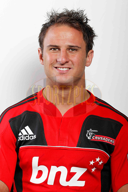 Matt Berquist. Crusaders Headshots. Investec Super Rugby, Rugby Park, Christchurch. Thursday 3 Febuary 2011 . Photo: Simon Watts/photosport.co.nz