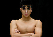 Chinese Olympic swimmer Wu Peng.