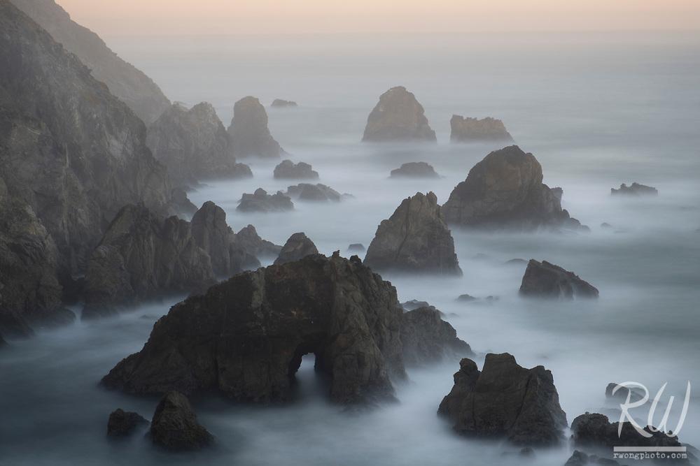 Bodega Head Sunrise Long Exposure, Sonoma Coast, California
