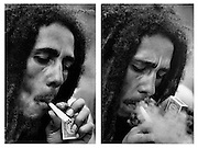 Bob Marley and Spliff