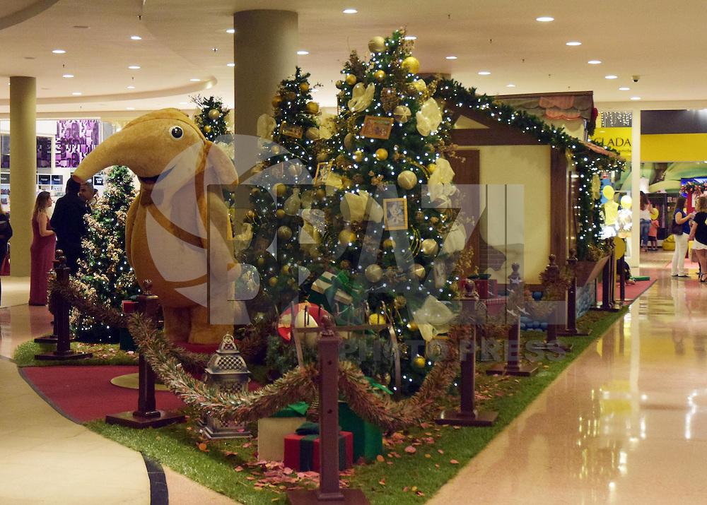 CAMPINAS,SP - 09.12.2015 - NATAL-SP - Decoração de Natal vista no primeiro andar do Shopping Galeria Iguatemi, nesta quarta-feira (09) em Campinas, interior do estado de São Paulo. (Foto: Eduardo Carmim/Brazil Photo Press)